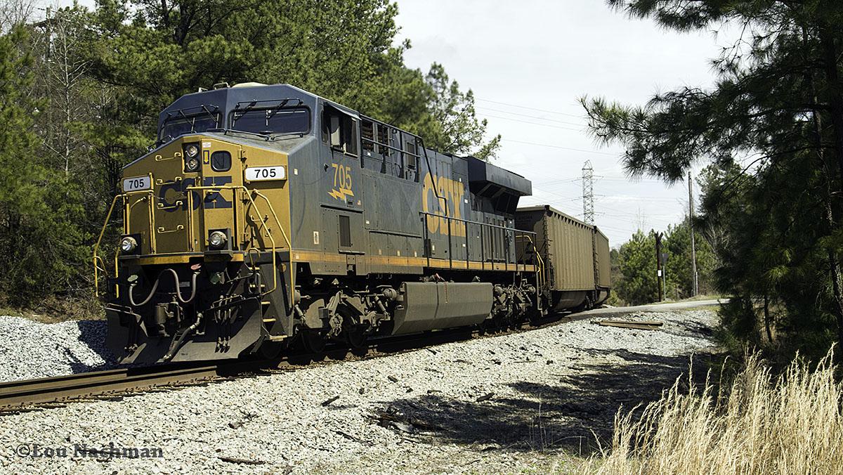 CSX Coal Train - Lou Nachman